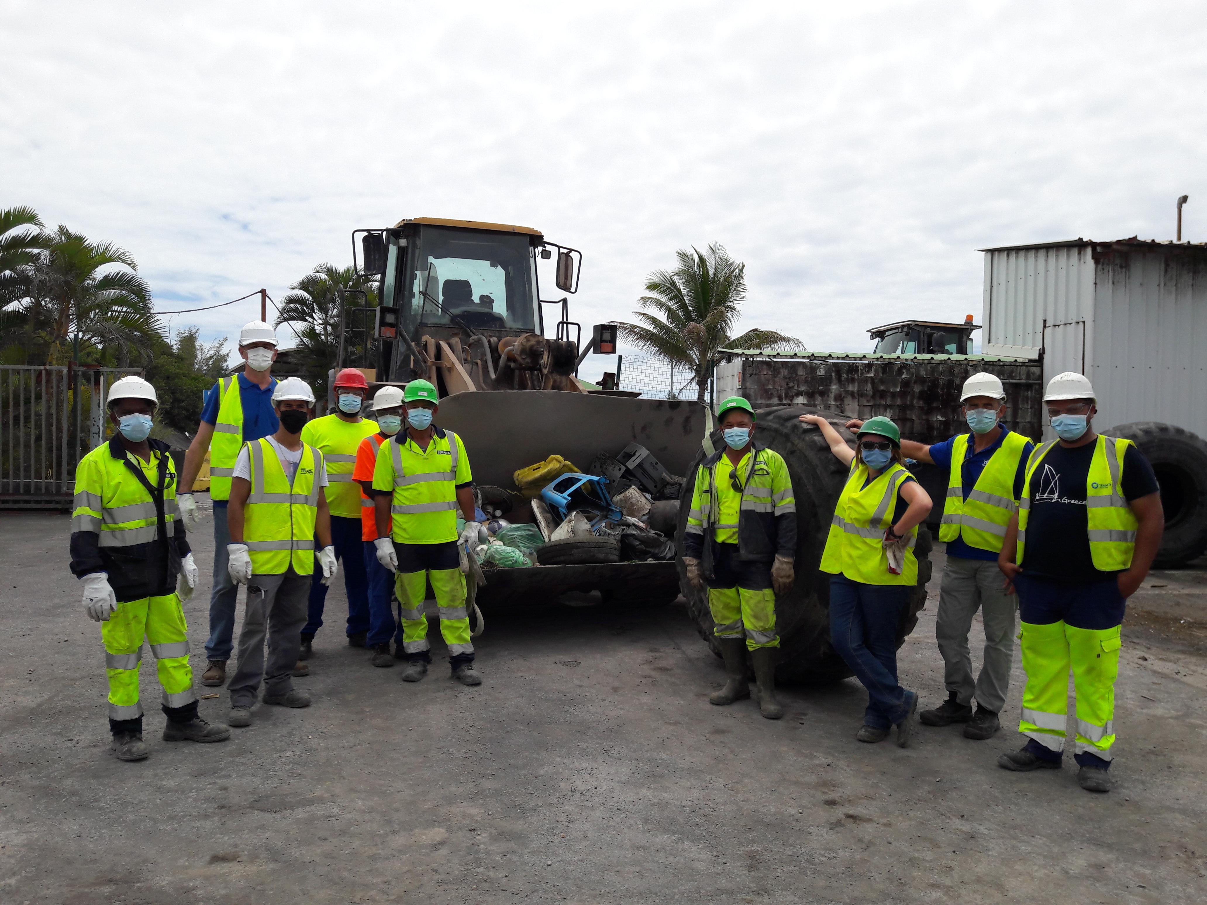 Teralta se mobilise pour le World Clean Up Day 2021!